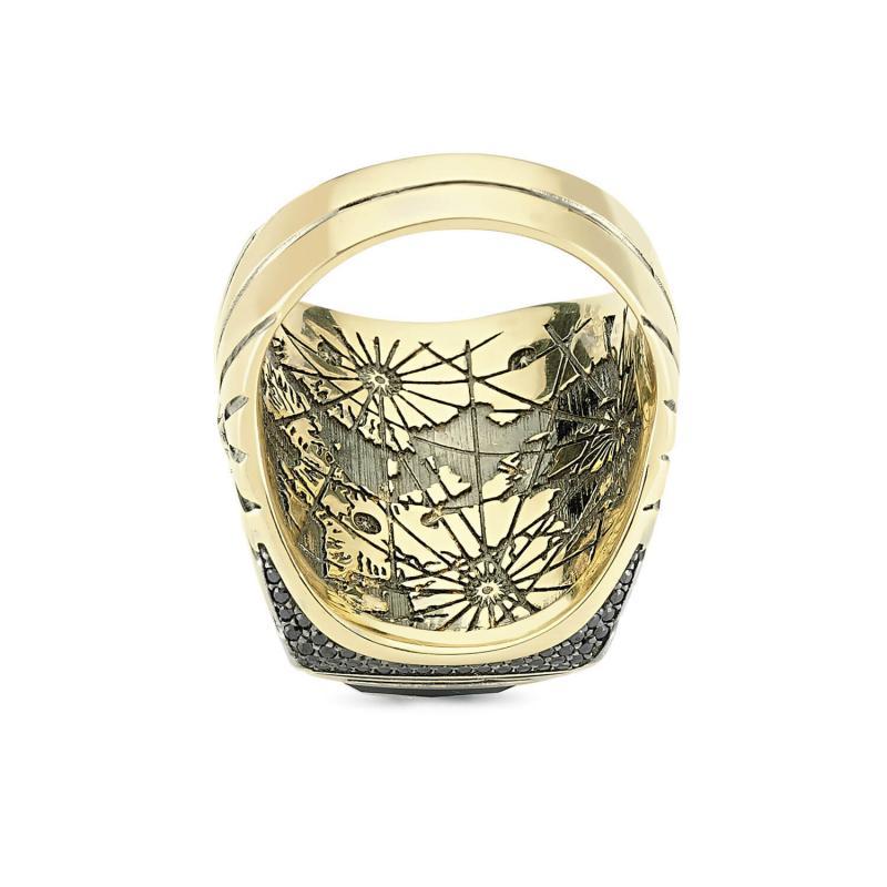 Altın Piri Reis Yüzüğü