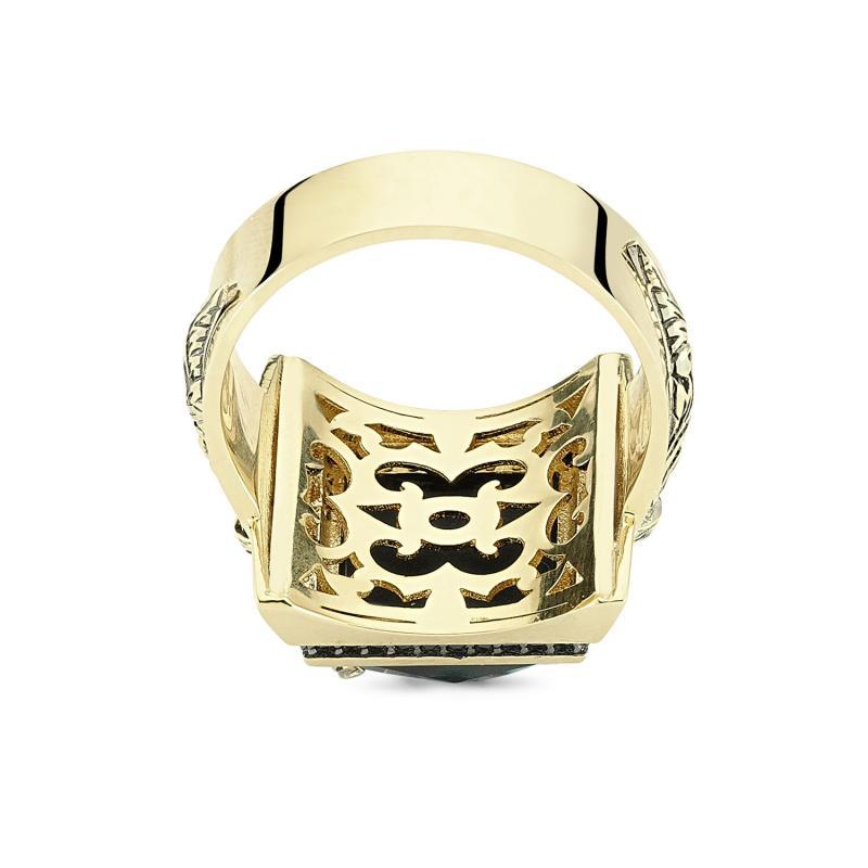 Altın Erkek Hançer Yüzüğü