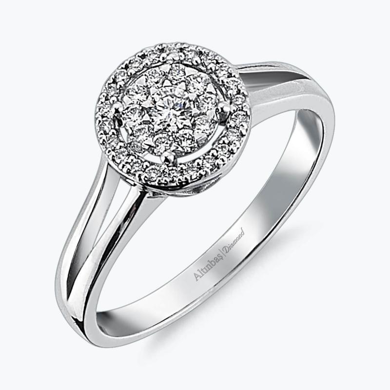 Bouquet Diamond Ring